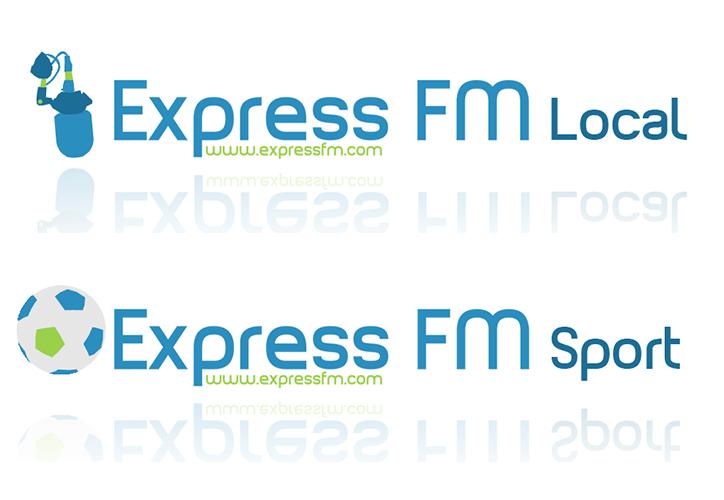 Express FM Logos 2013