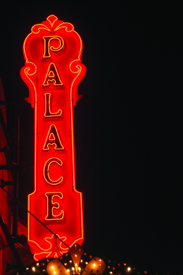 palace theater sign