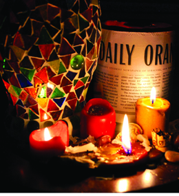 syracuse daily orange candle