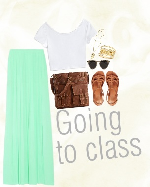 going to class-1