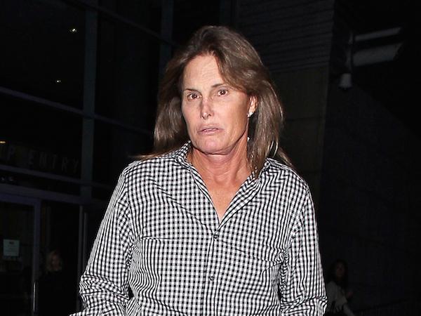 Bruce Jenner seen arriving at Elton John concert at STAPLES Center in Los Angeles