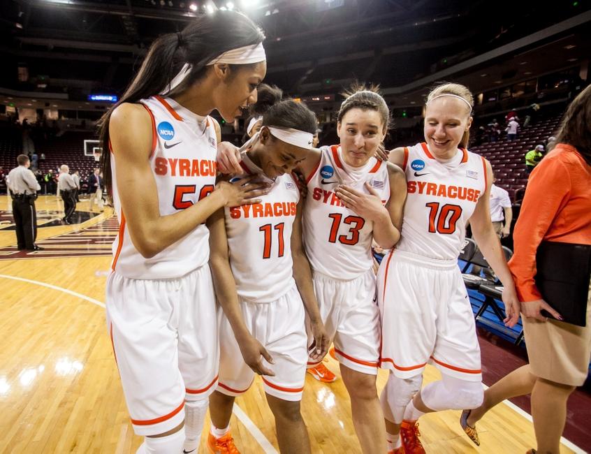 NCAA Womens Basketball: NCAA Tournament-First Round-Syracuse vs Nebraska