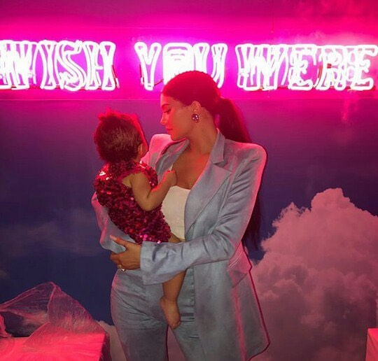 We never thought we could be jealous of a toddler but Stormi Webster's first birthday party has us all wishing we got the invite. Read about the party details at jerkmagazine.net 🌈💥🌎🎀🧸🎉