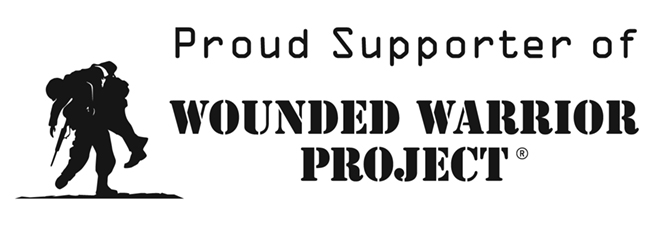 We are proud supporter and partner of The wounded Warriors - https://www.woundedwarriorproject.org/