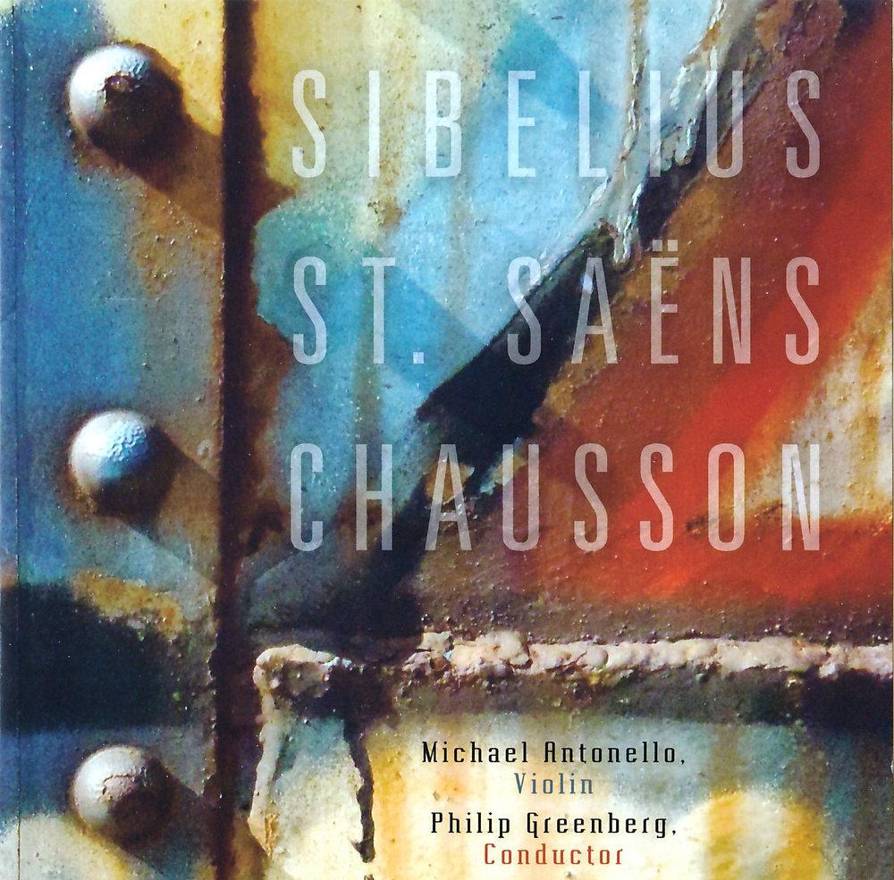 Sibelius, St. Saëns, Chausson