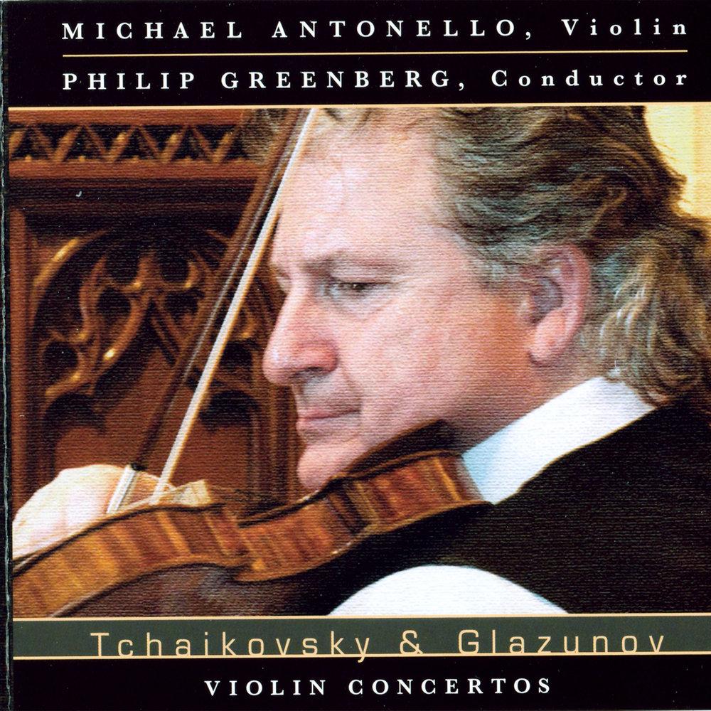 Tchaikovsky & Glazunov Concertos
