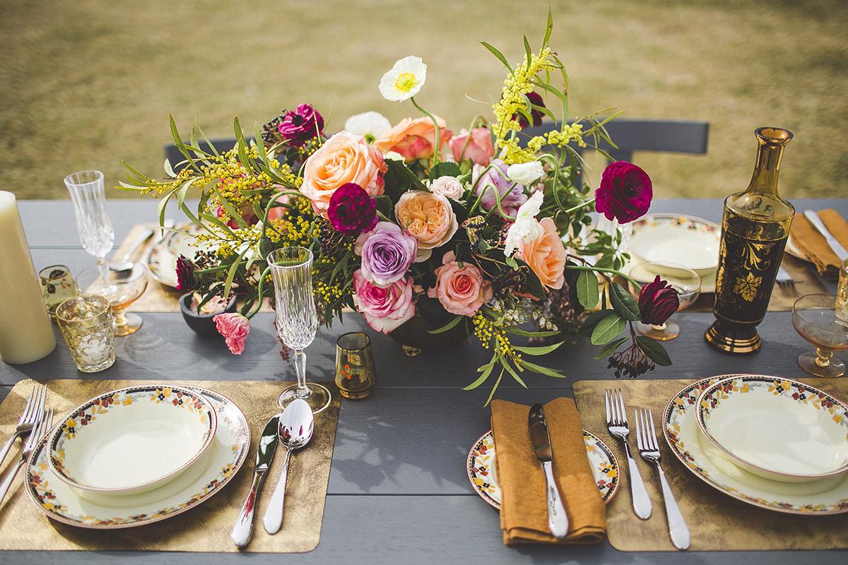Floral wedding design by Yvette Edwards.