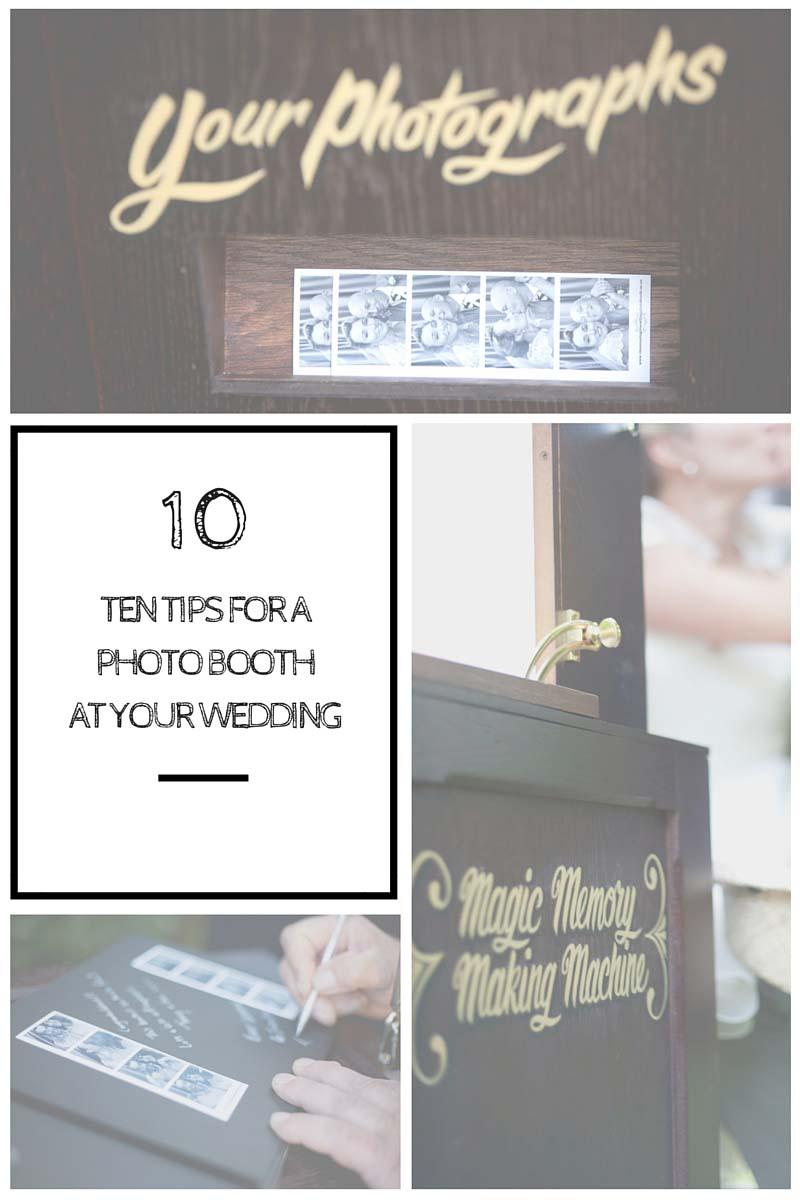 Wedding Photo booth tips