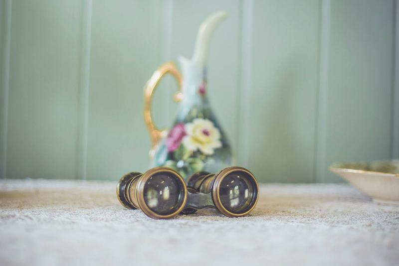 wedding vintage hire props