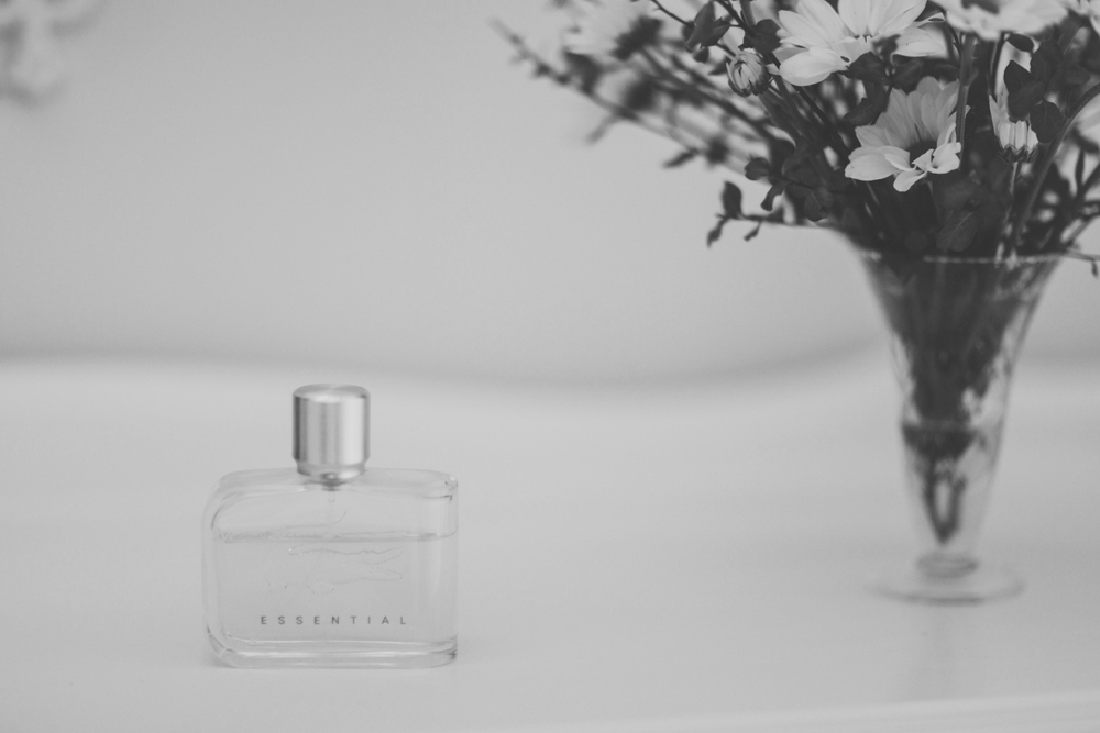 Bridal perfume bottle