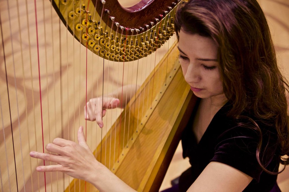 """Brava on the harp!"" - -Renée Fleming"