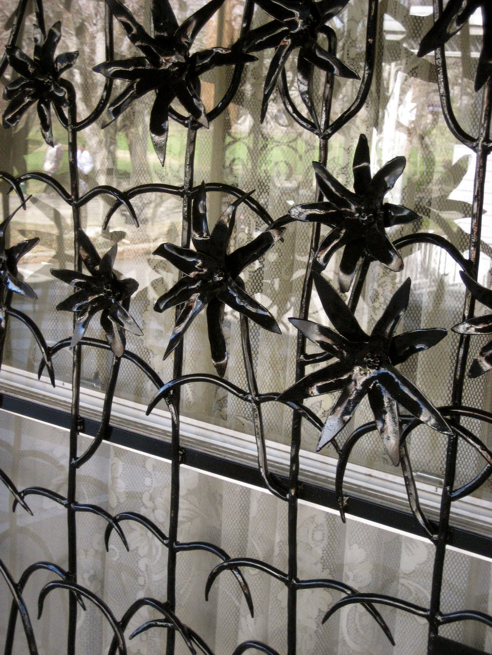 LILY WINDOW GRILL - private residence, Philadelphia PA