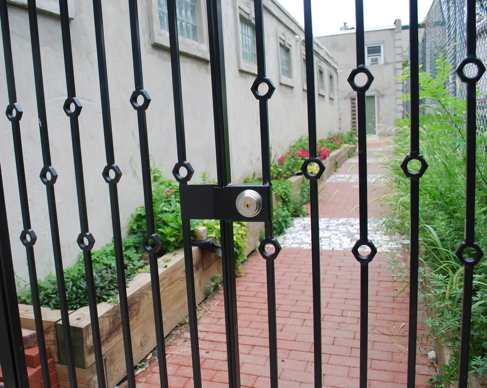 GATE WITH WRENCHES (detail)