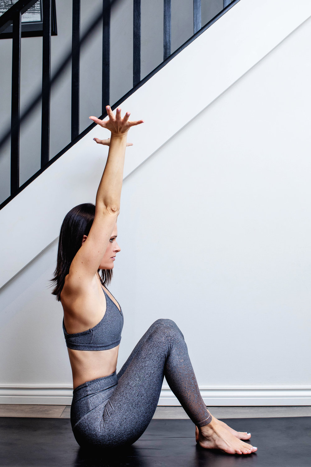 ELDOA™ T7-T8 - This pose opens up the space between the vertebral segments that your 7th and 8th ribs attach to (just behind and a little lower than your heart).