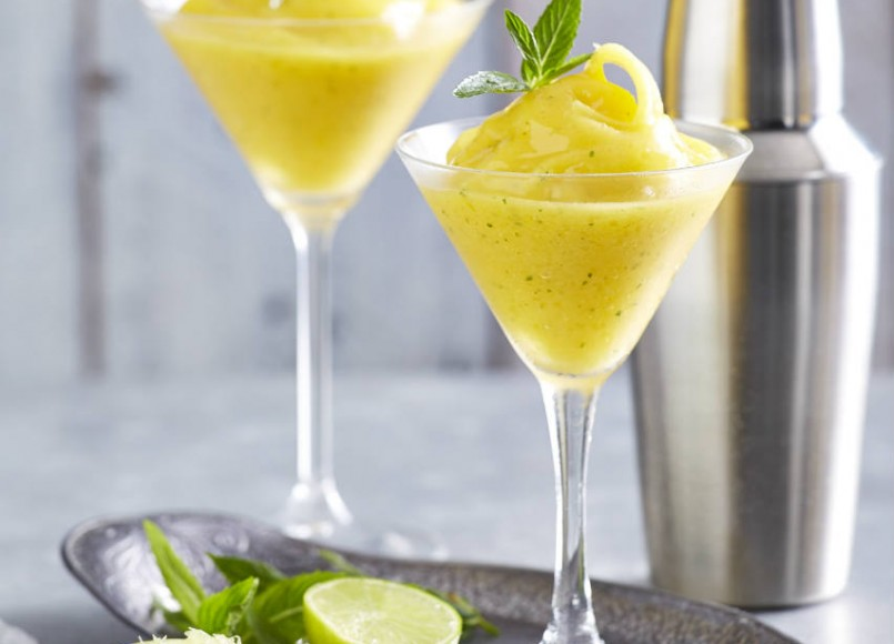 Mango & Mint Daiquiris -