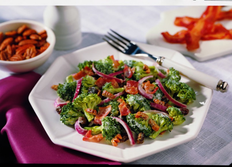 Broccoli and Bacon Salad -
