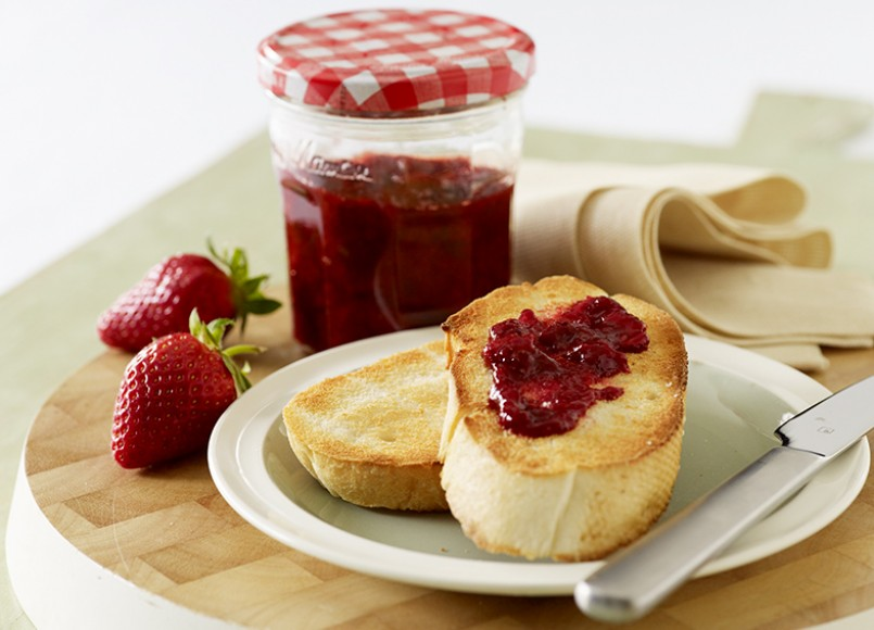 Strawberry and Cinnamon Jam -