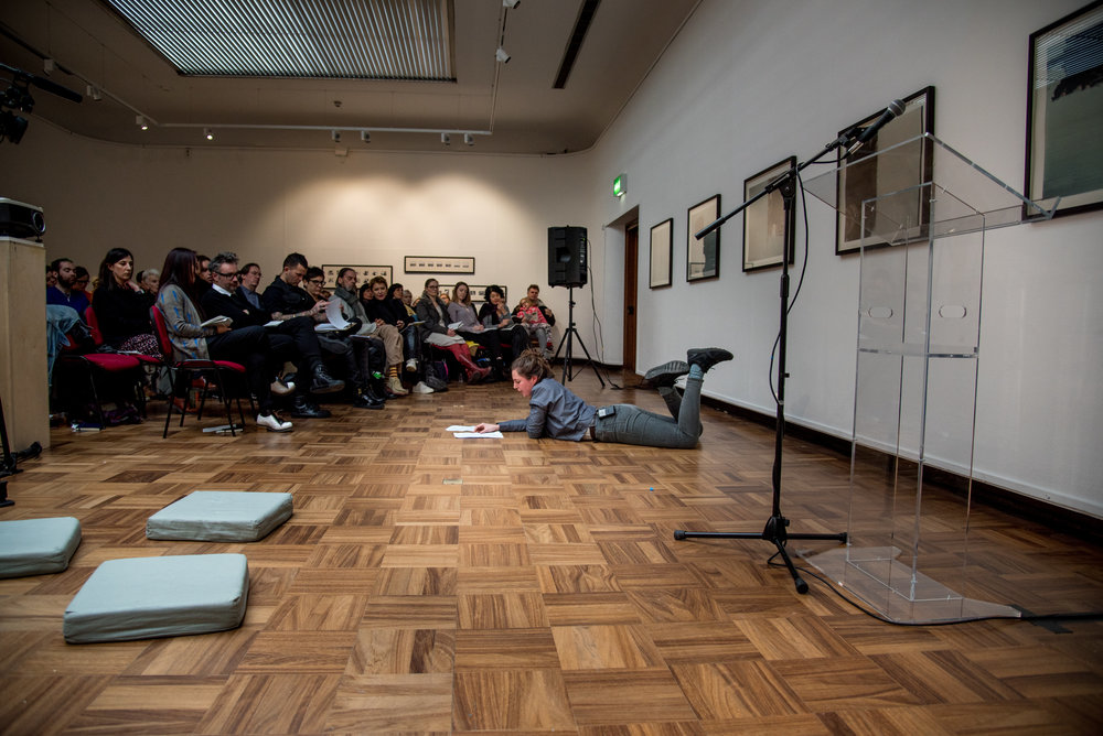 Ulay: International Symposium. December, 2018. The Cooper  Gallery, Dundee