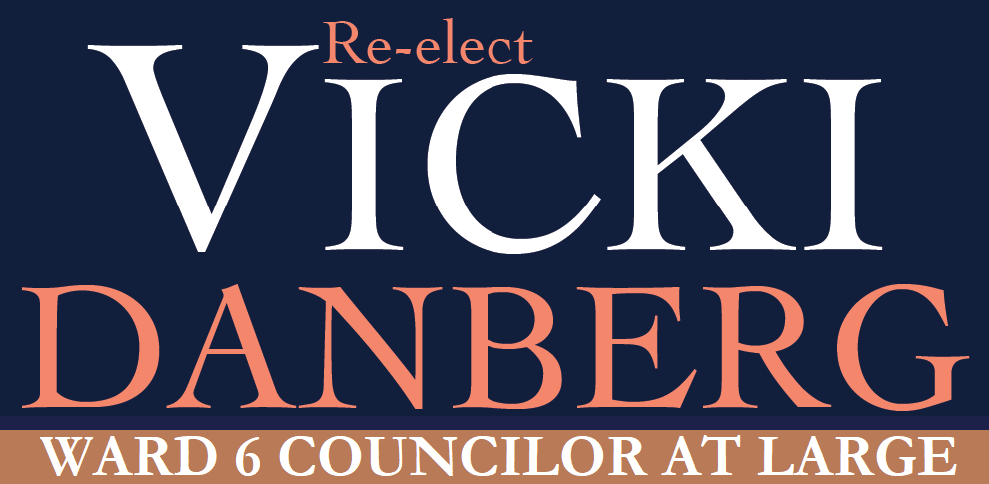 Re-Elect Vicki Danberg for Councilor at large!