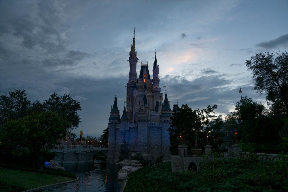 Before Cinderella Castle