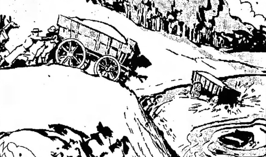 Legend says six wagons full of silver bars were rolled into hendricks lake. click photo for more.