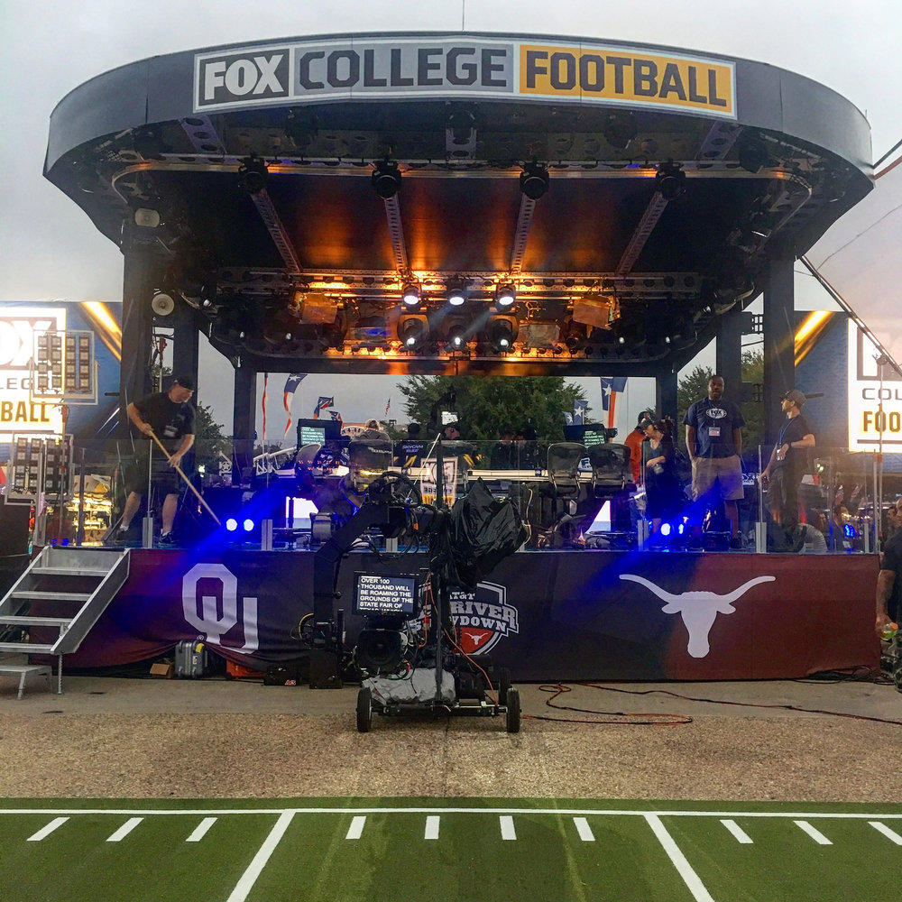 Clear-Com Provides Wireless Intercom System for Fox Sports' College Football Pregame Show
