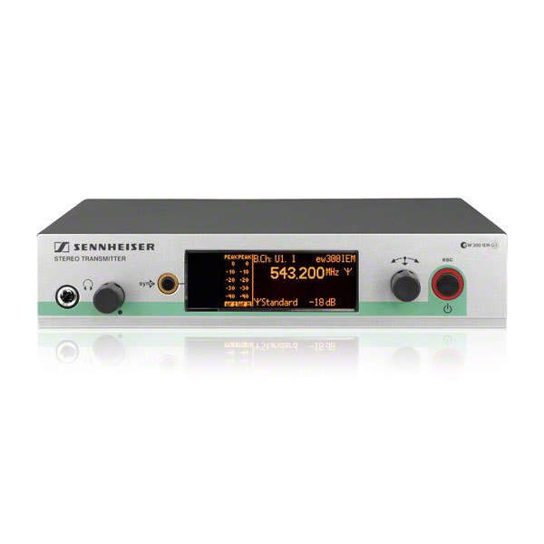 SR300G3 – single channel transmitter