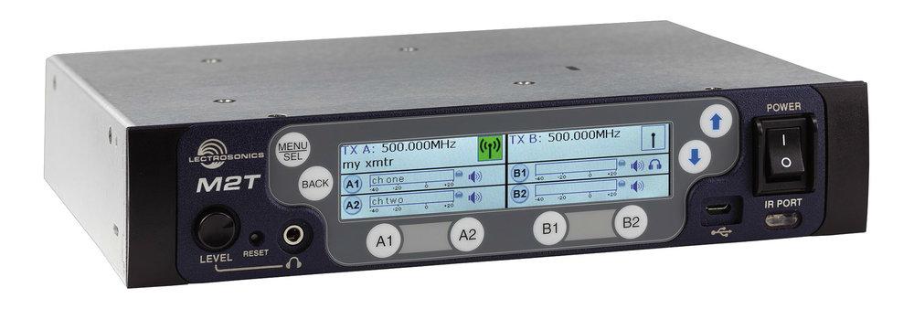 M2T – Dual transmitter
