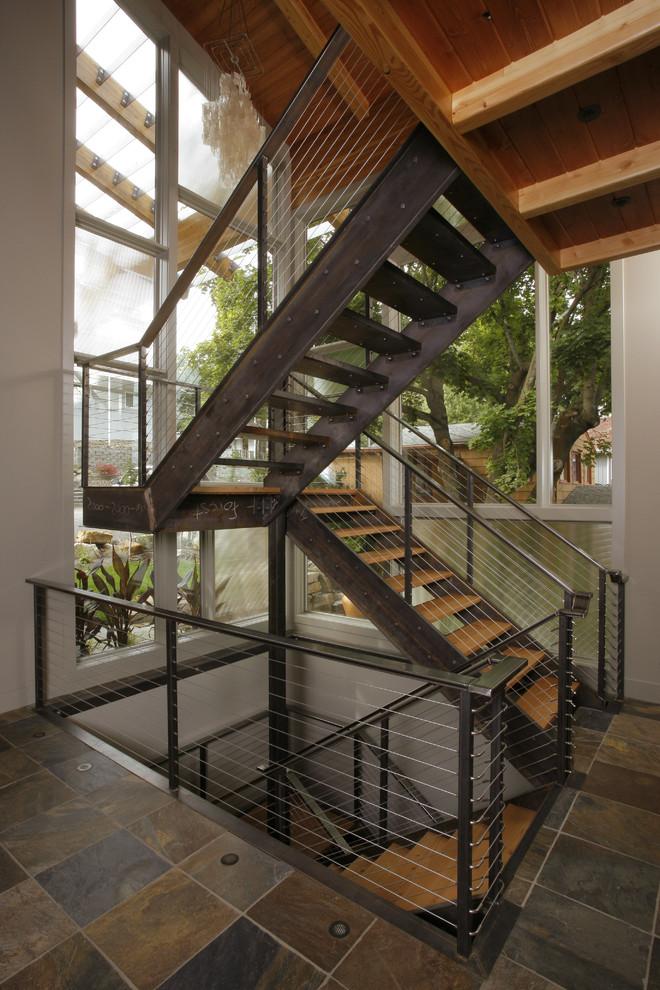 Stringer Staircase -