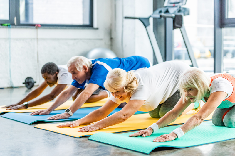 HEALTH SERVICES - Yoga, exercise class, foot clinics and nutrition education all at the Parker Senior Center. Check out our calendar of events here.