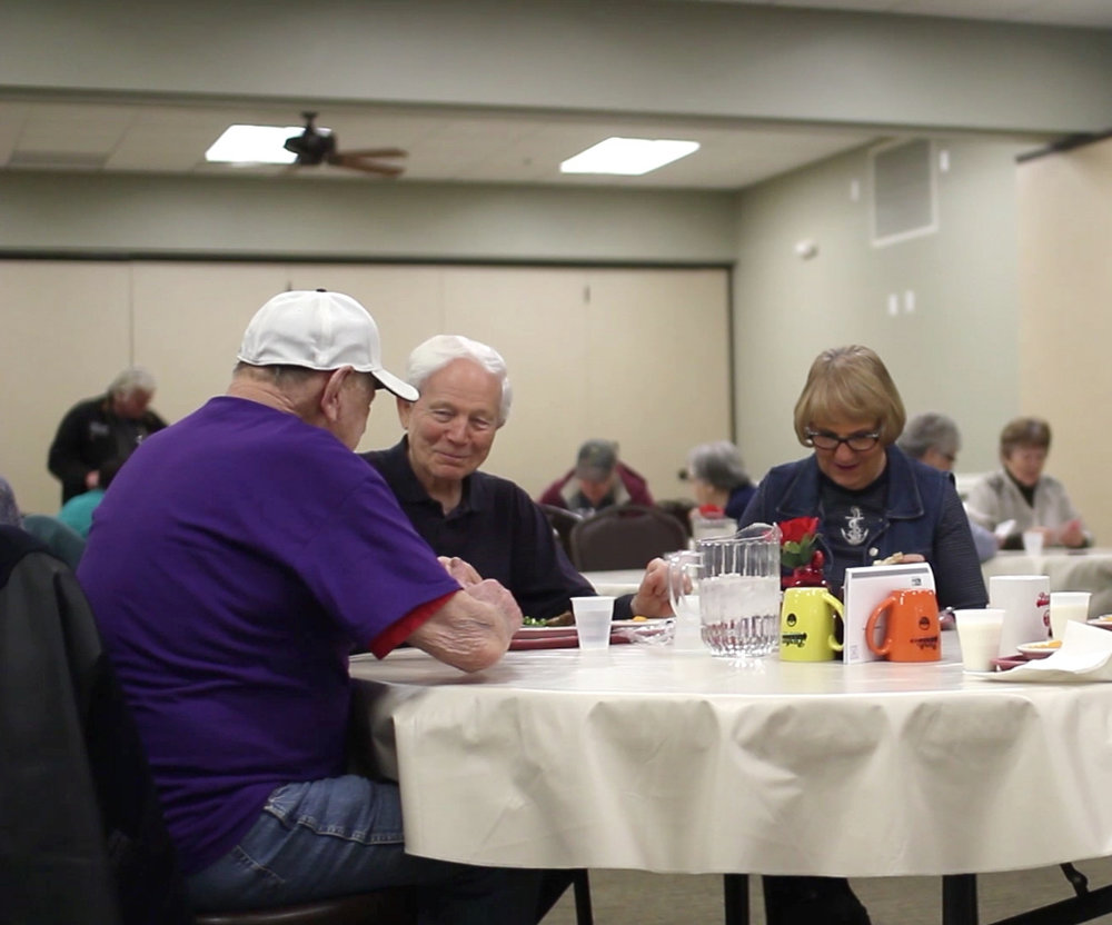 CONGREGATE MEALS - Congregate meals are a great way to receive a nutritious meal, socialize with friends and take part in educational classes at the Parker Senior Center. Meals are served Monday-Friday from 11:30 am – 12:30 pm. Come join us!