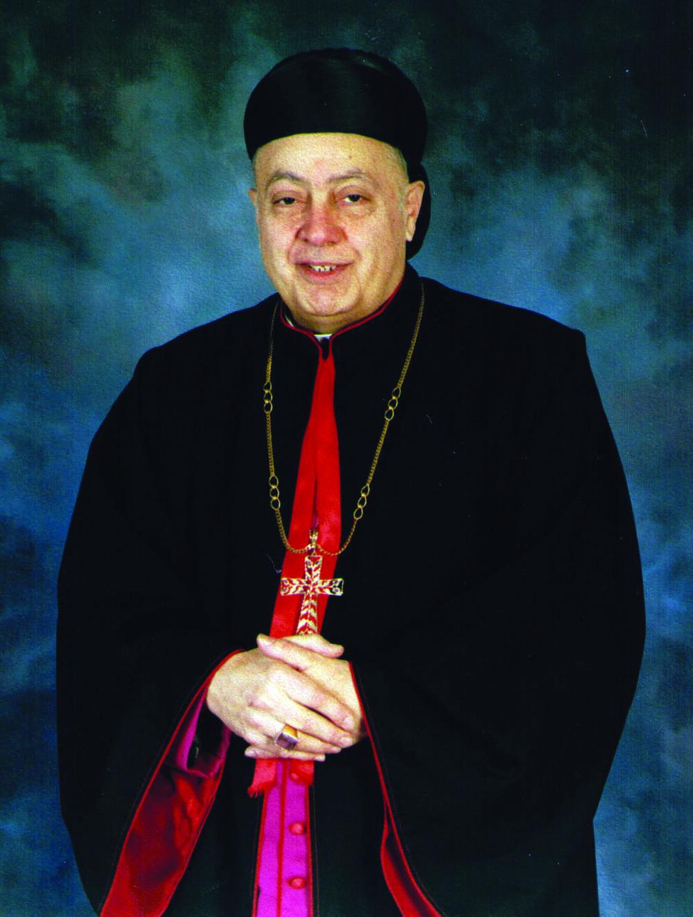 Bishop Robert Shaheen
