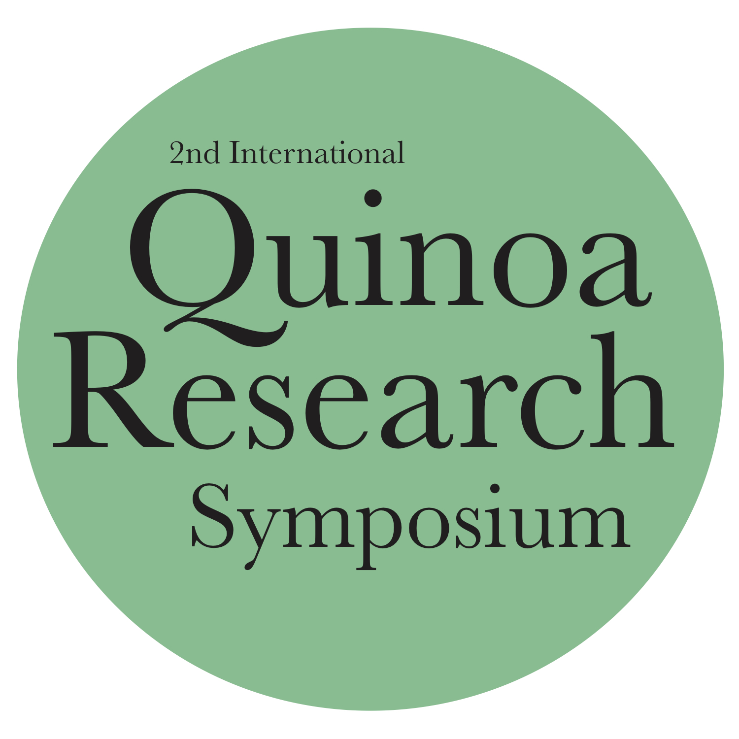 International Quinoa Research Symposium