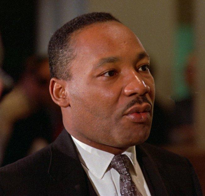 Rev. Dr. Martin Luther King, Jr. - civil rights activist
