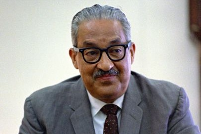 Thurgood Marshall - attorney, first African-American Supreme Court justice