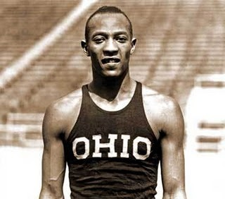 Jesse Owens - track and field athlete, 4-time Olympic gold medalist