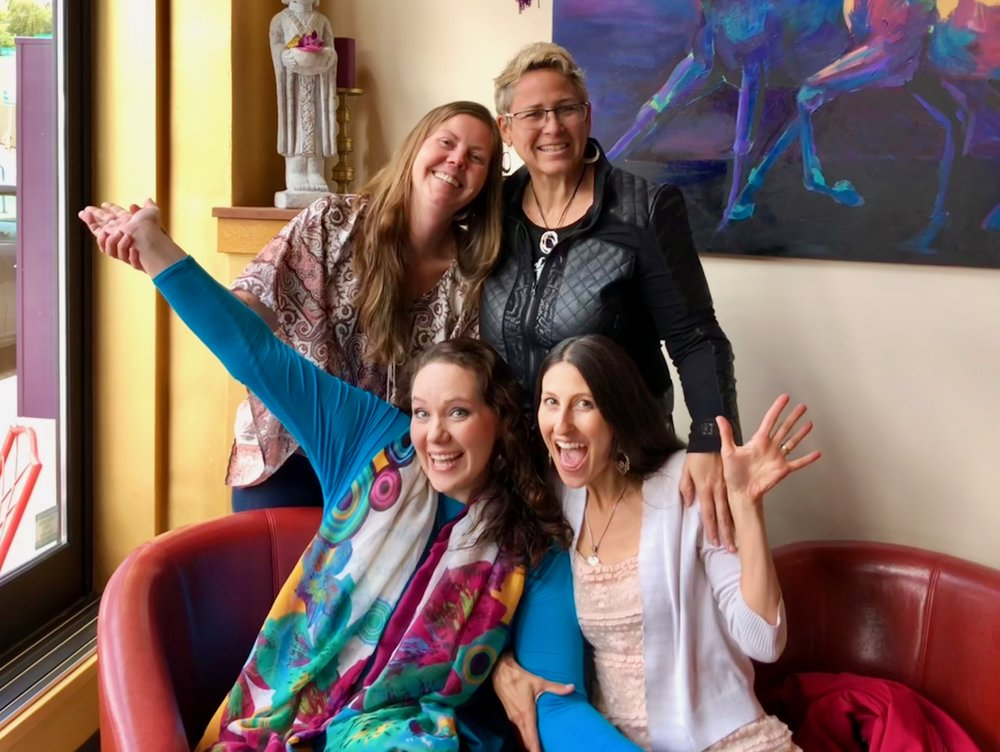 Sampling of Local Groups - River West MenTea Time Knitting - NW WoolsPoetry GroupChai Tea GroupHealing WazeHope/SW EnvironmentalArt/Coffee ClubPositive Charge (social activism group)Portland Insight Meditation Center Board