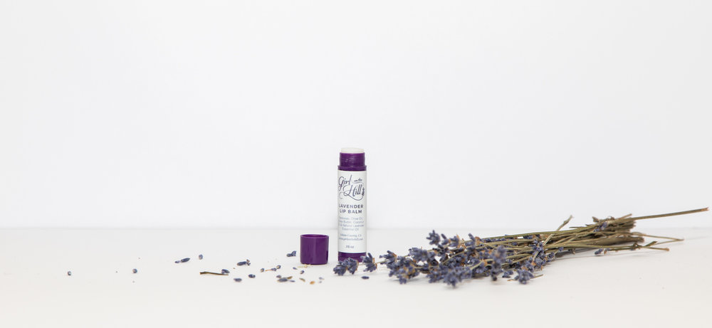 Lip Balm - Our Lavender Lip Balm is brings joy to your purse or your pocket.