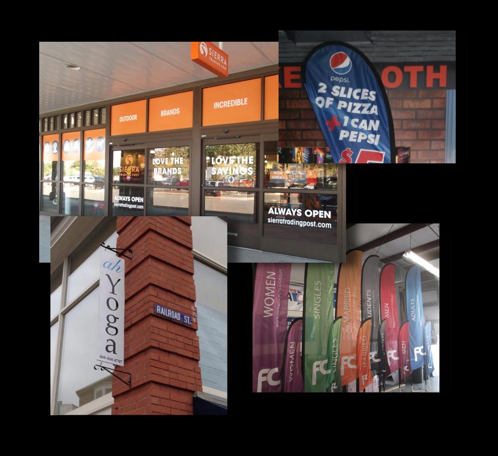 signs in danbury, ct