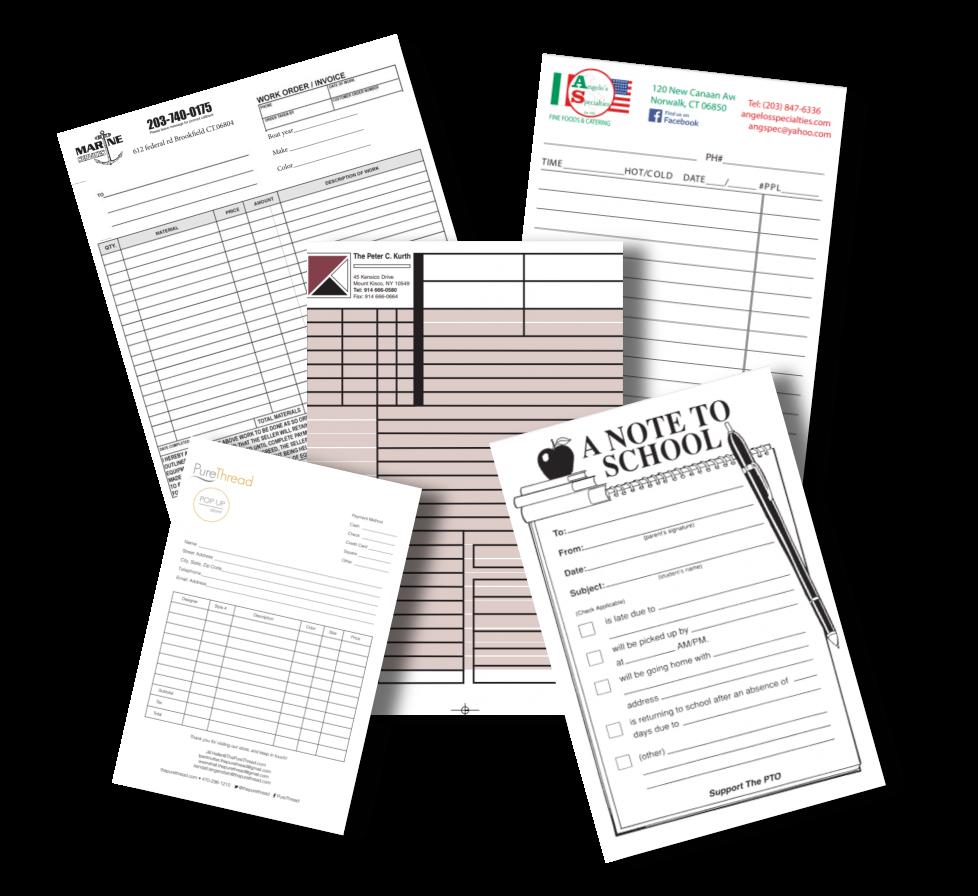 order forms printing danbury, ct