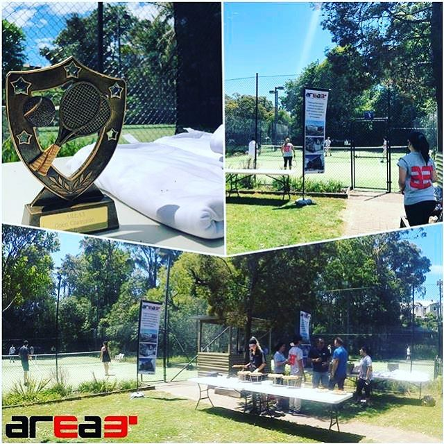 Had a great turnout for the annual AREA3 Sydney Tennis day. Thank you to all those who made it. #tennis #fun #workfunctions #projectmanagement