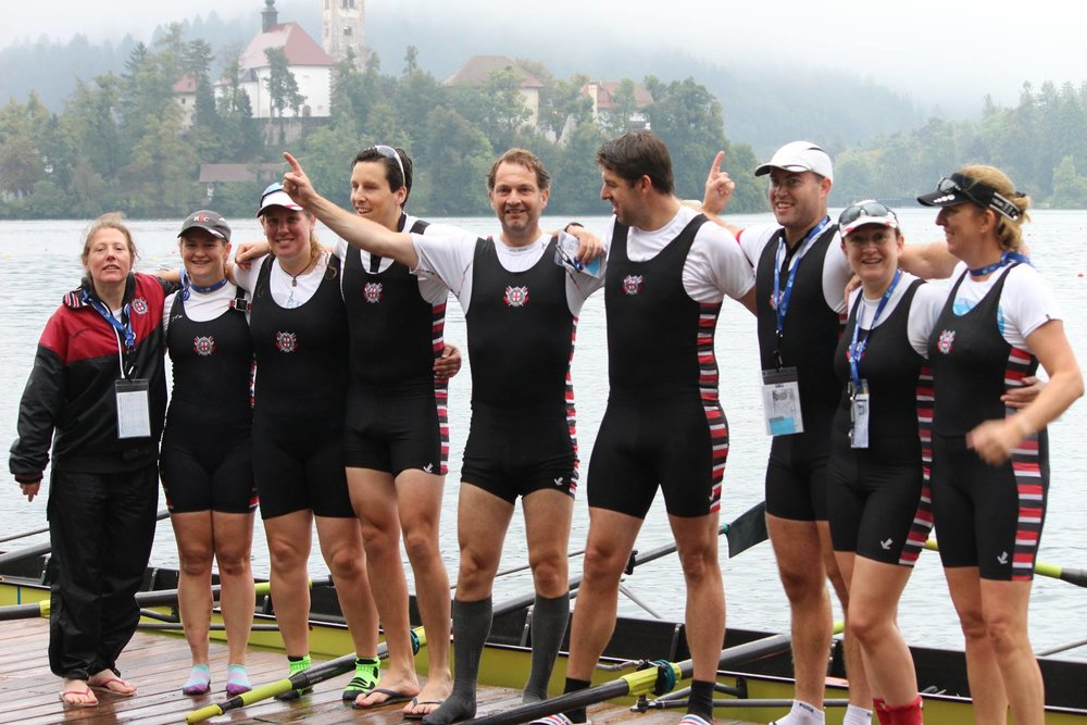 Masters - The club has thriving men's and women's masters squads for those aged 27 and above who can already row. We do not operate a structured programme for masters and there is no formal coaching.