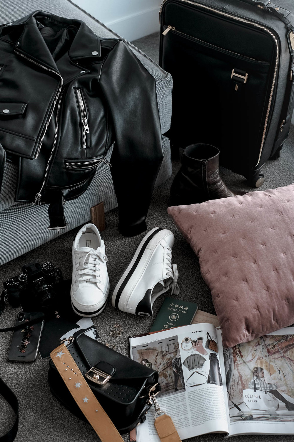 packing for Tokyo by Tiffany yang
