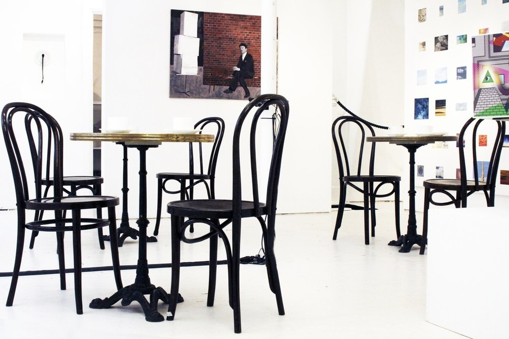 The Cafe  SHOWstudio, Bruton Place, London