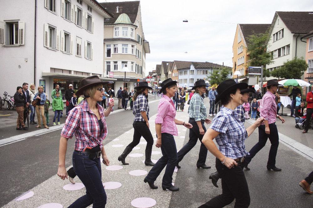 2015 Auftritt Strassenfest in Gossau SG