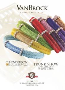 Henderson trunk show April 2015