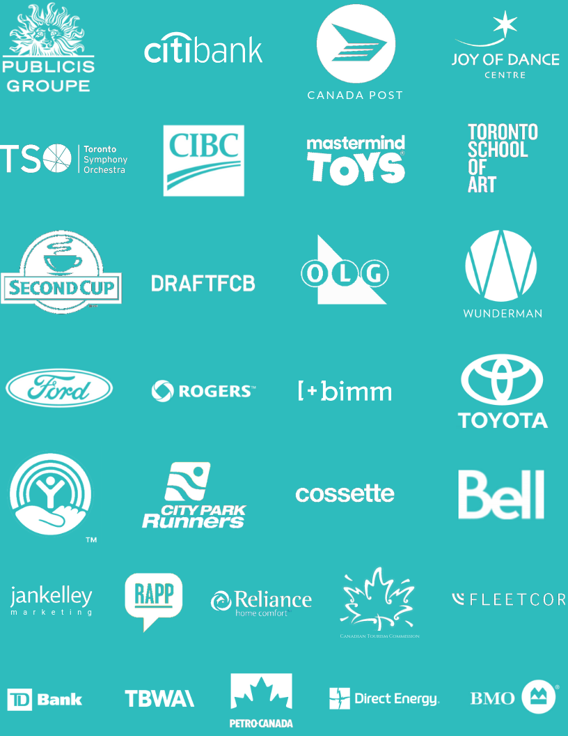Sandra Greene Client List Logos
