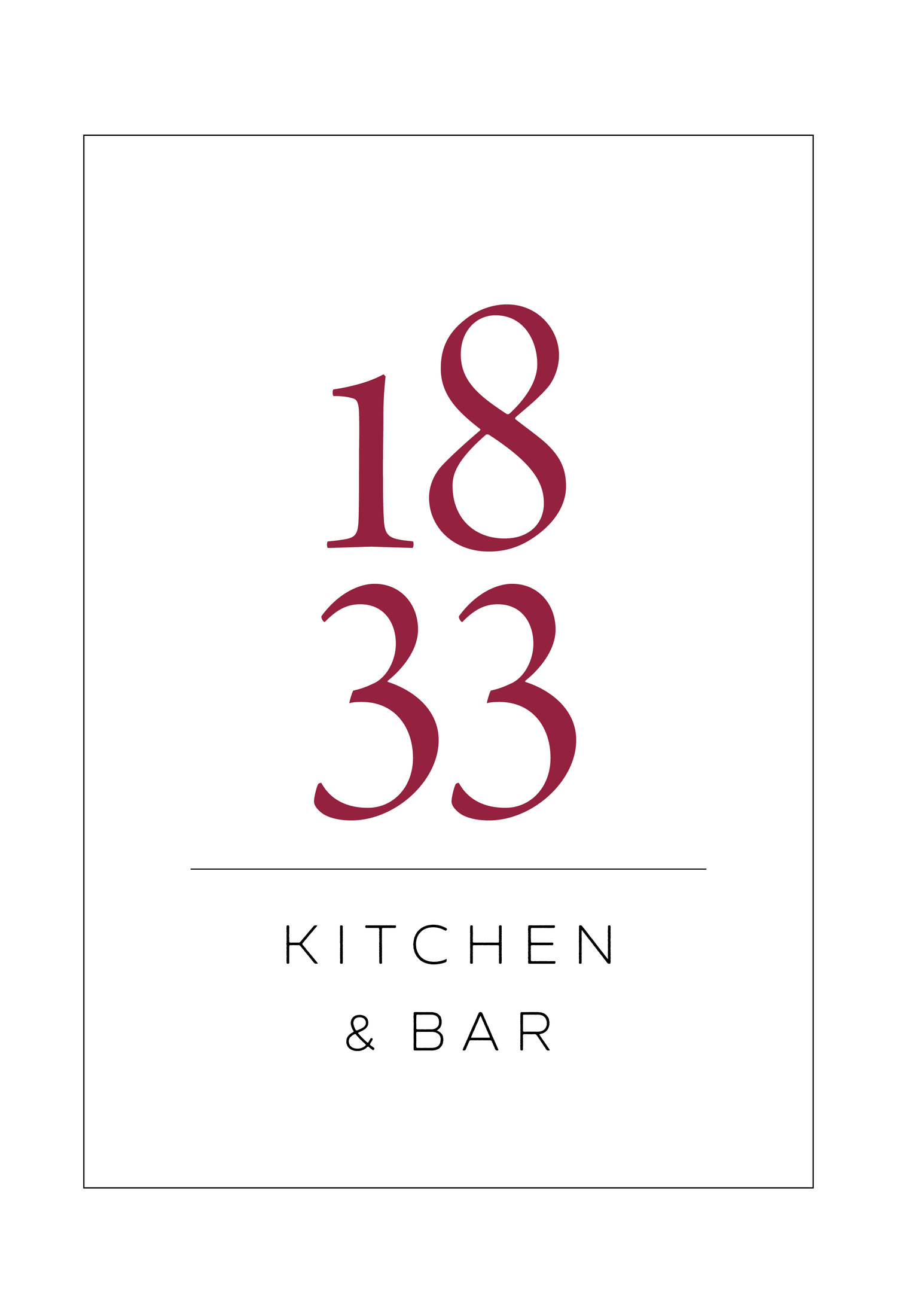 1833 Kitchen & Bar