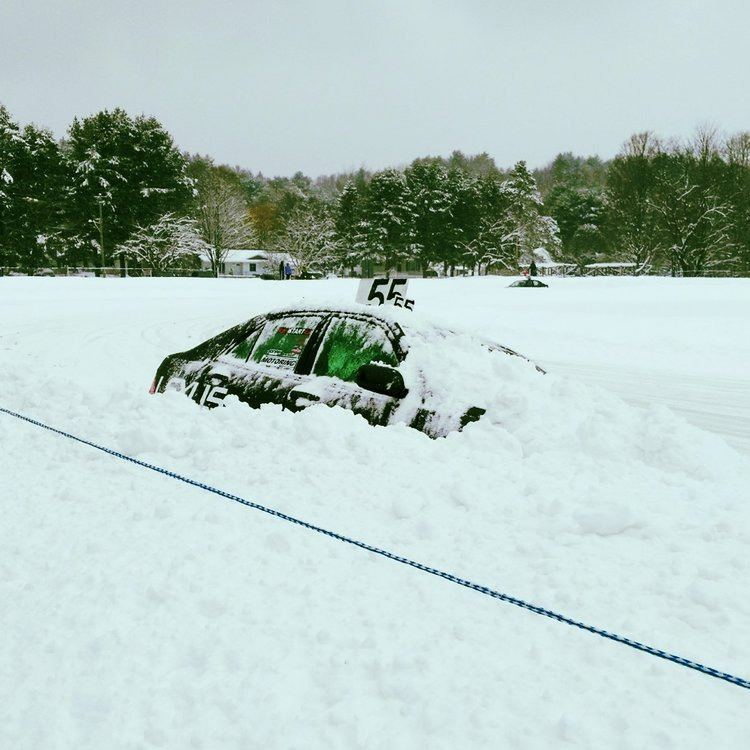 We race in conjunction with the CASC-Canadian Automobile Sport Club and the Minden Subaru Ice Race Championship in Minden, ON. - It is a spec series for Lexus IS300s. We race on 6 consecutive Sundays.This is a no contact series, and we mean it!