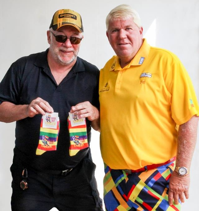 Golf Pro with Sock Out Cancer socks